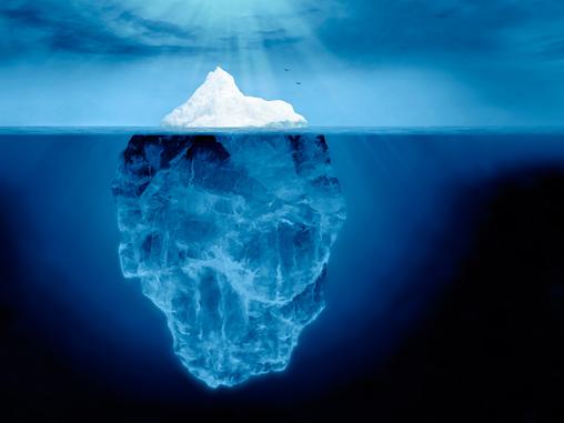 Image result for tecnica del iceberg