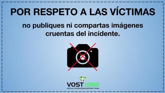 No difundir imagenes